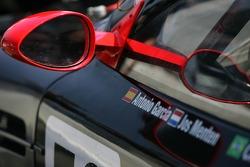Détail de la Team Modena Aston Martin DBR9