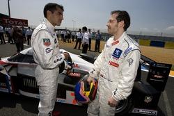 Marc Gene et Jacques Villeneuve