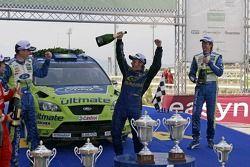 Podium: third place Petter Solberg