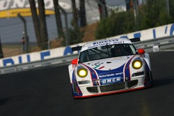 #93 Autorlando Sport Porsche 997 GT3-RSR: Lars-Erik Nielsen, Allan Simonsen