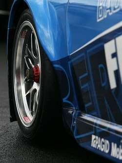 Détail de la Seikel Motorsport Porsche 997 GT3-RSR
