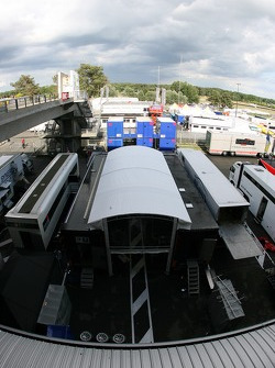 Paddock Team Peugeot Total