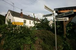 Road signs in Herschbroich