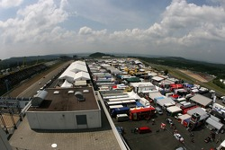 Overview of the Nürburgring paddock