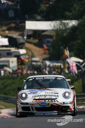 #30 Mühlner Motorsport Porsche 997 GT3 Cup: Heinz-Josef Bermes, Ulf Karlsson