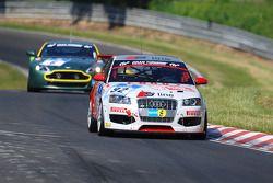 #92 Pirelli Competizioni Audi A3: Otto Hofmeyer, Francisco Mota, Paul Singer, Thorsten Unger