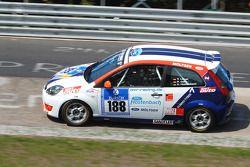 #188 Ford Fiesta ST: Ralph Caba, Volker Lange, Karlheinz Hostenbach