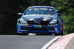 #61 Carlsson Racing Mercedes SLK Carlsson: Rainer Brückner, Ingvar Carlsson, Vitaly Dudin, Vadim Kha
