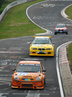 Qualifying action at the Kleiner Sprunghügel