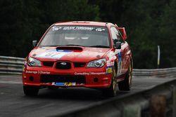 #87 Subaru Impreza: Mike Rimmer, Chris Rimmer, Llynden Riethmuller