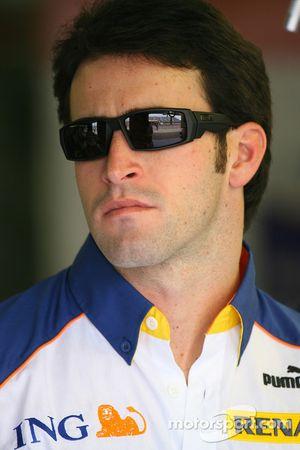 Ricardo Zonta, Test Driver, Renault F1 Team