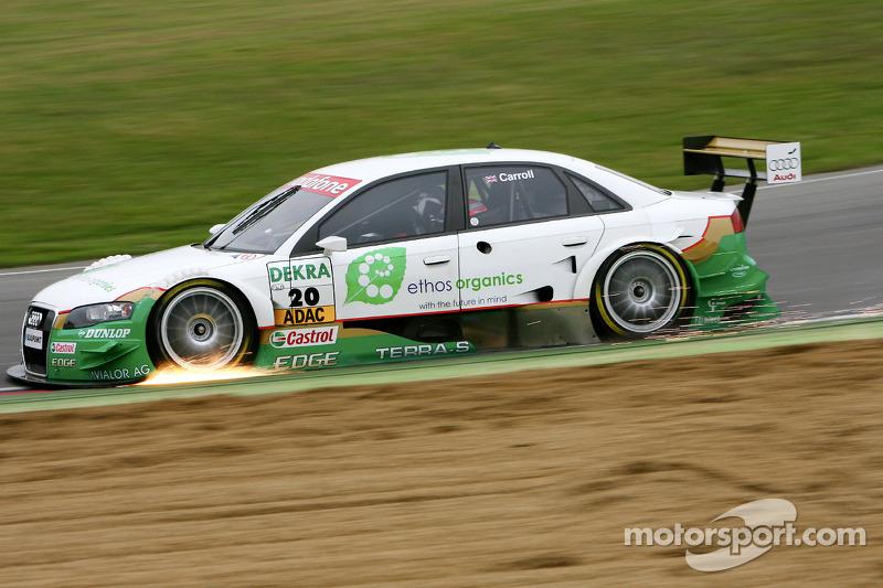 #20: Adam Carroll, Audi, A4 DTM 2005