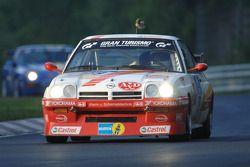 #119 Kissling Motorsport Opel Manta: Hans-Olaf Beckmann, Peter Hass, Bernhard Schmittner