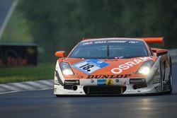 #18 Raeder Motorsport Lamborghini Gallardo: Hermann Tilke, Dirk Adorf, Peter Oberndorfer