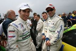 Pole position: Timo Bernhard, Romain Dumas, Marc Lieb et Marcel Tiemann