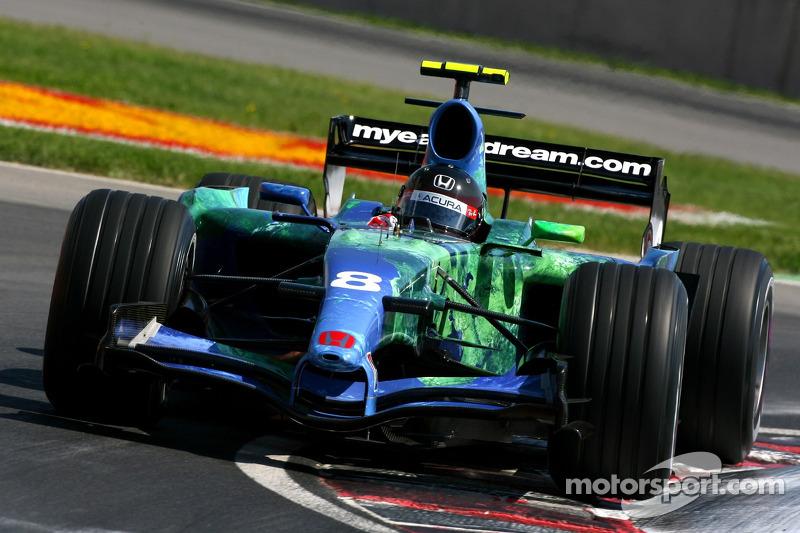 #8: Rubens Barrichello, Honda Racing F1 Team RA107