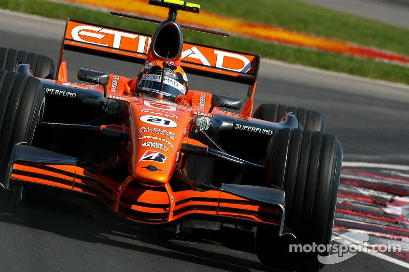 Кристиан Альберс, Spyker F1 Team