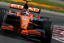Кристиан Альберс, Spyker F1 Team, F8-VII