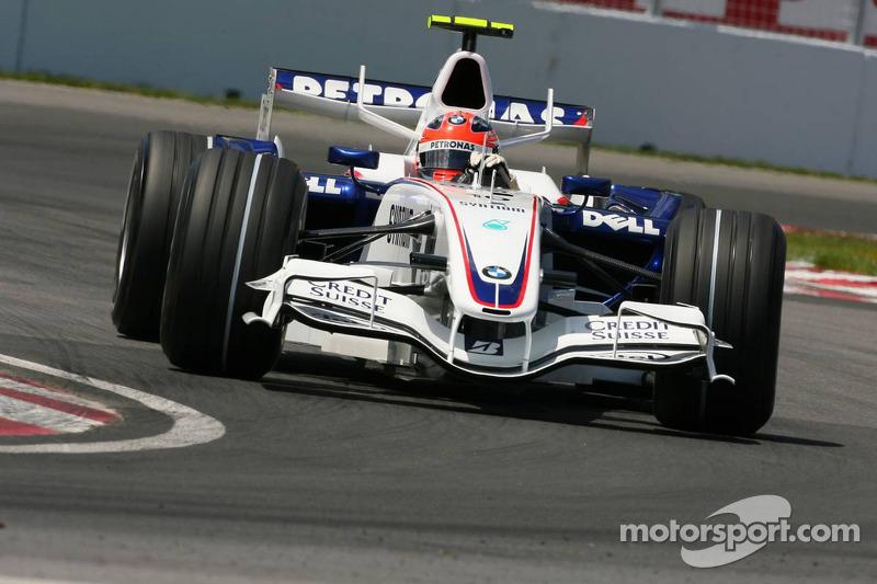 Robert Kubica, BMW Sauber F1 Team, F3.07