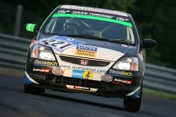 #221 Gene Rollinson Honda Civic Type-R: Stuart Owers, Rhys McKay