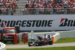 Scott Speed, Scuderia Toro Rosso, STR02, retired