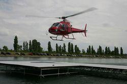 Robert Kubica, BMW Sauber F1 Team fue llevado al hospital en un helicóptero