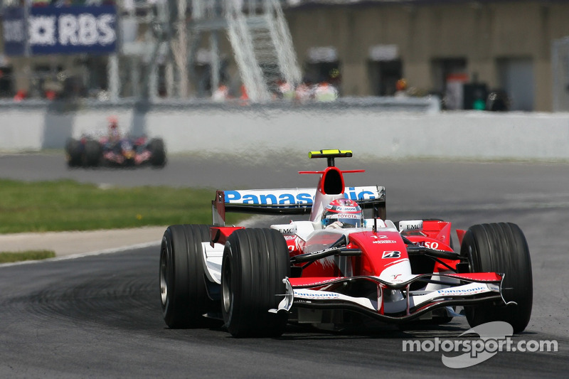 #12 : Jarno Trulli, Toyota TF107