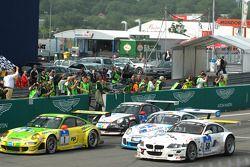 Arrivée: #1 Manthey Racing Porsche 911 GT3 RSR: Timo Bernhard, Marc Lieb, Romain Dumas, Marcel Tiemann