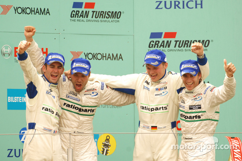 2007: Romain Dumas, Marcel Tiemann, Marc Lieb, Timo Bernhard