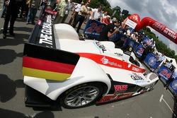 Kruse Motorsport Pescarolo Judd aux vérifications techniques