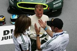 Johnny Herbert et David Brabham