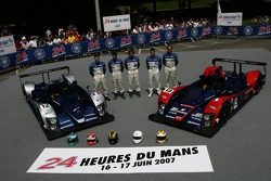 #12 Courage Competition Courage LC70 AER: Alexander Frei, Jonathan Cochet, Bruno Besson, #13 Courage Competition Courage LC70 AER: Jean-Marc Gounon, Guillaume Moreau