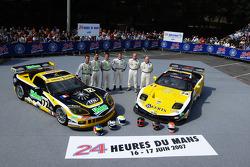 #72 Luc Alphand Aventures Corvette C6.R: Jérôme Policand, Patrice Goueslard,