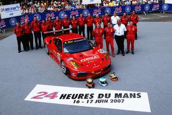 #97 Risi Competizione Ferrari 430 GT Berlinetta: Mika Salo, Jaime Melo, Johnny Mowlem