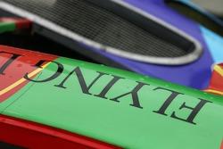 Détail de la Flying Lizard Motorsport Porsche 997 GT3-RSR