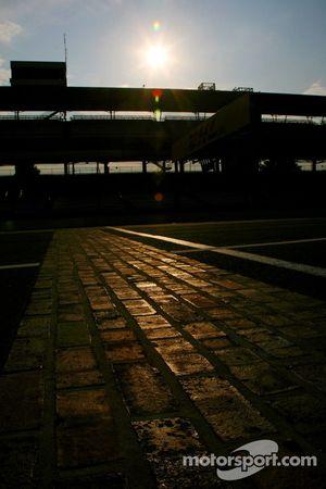 bricks, brickyard, dusk