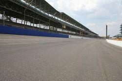 Indianapolis Motor Speedway track walk