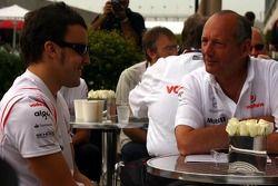 Fernando Alonso, McLaren Mercedes, Ron Dennis, Presidente de McLaren y director del equipo