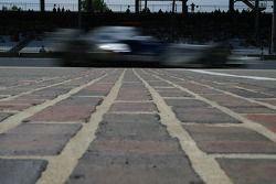 Característica de línea de meta, Sebastian Vettel, piloto de pruebas, BMW Sauber F1 Team