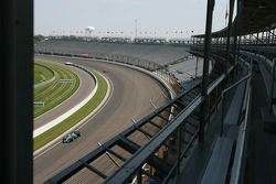 Feature from the main grandstands