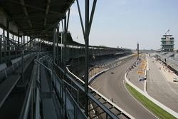 Feature from the grand stands