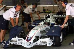 Sebastian Vettel, piloto de preuba, BMW Sauber F1 Team, Pitlane, Box, Garaje