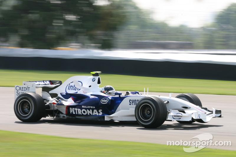 Sebastian Vettel, BMW Sauber F1 Team, F3.07