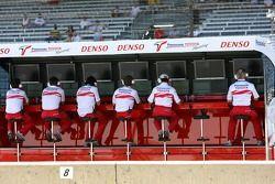 Toyota F1 Team, Pitwall