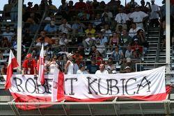 Robert Kubica, BMW Sauber F1 Team, taraftarı club
