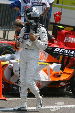 Sebastian Vettel, BMW Sauber F1 Team