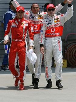 Pole Position, 1st, Lewis Hamilton, McLaren Mercedes, MP4-22, 2nd, Fernando Alonso, McLaren Mercedes