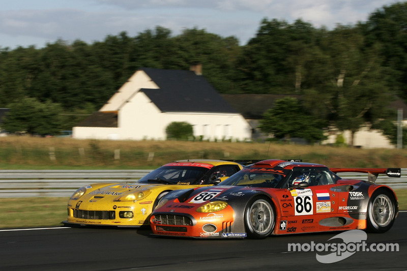 2007: #63 Corvette Racing Corvette C6.R: Johnny O'Connell, Jan Magnussen, Ron Fellows