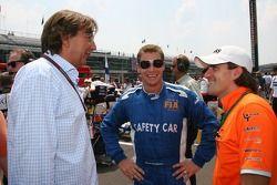Bernd Maylander, FIA F1 & GP2 Güvenlik Aracı Pilotu ve Markus Winkelhock, Test Pilotu, Spyker F1 Tea