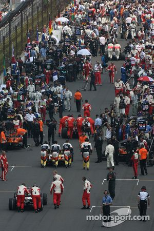 The busy grid